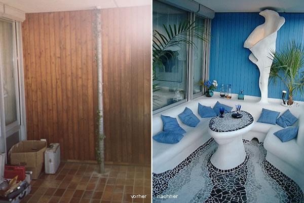 balkon. Black Bedroom Furniture Sets. Home Design Ideas
